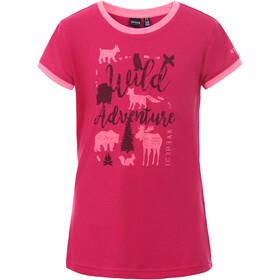 Icepeak Kamas T-Shirt Kinderen, carmine